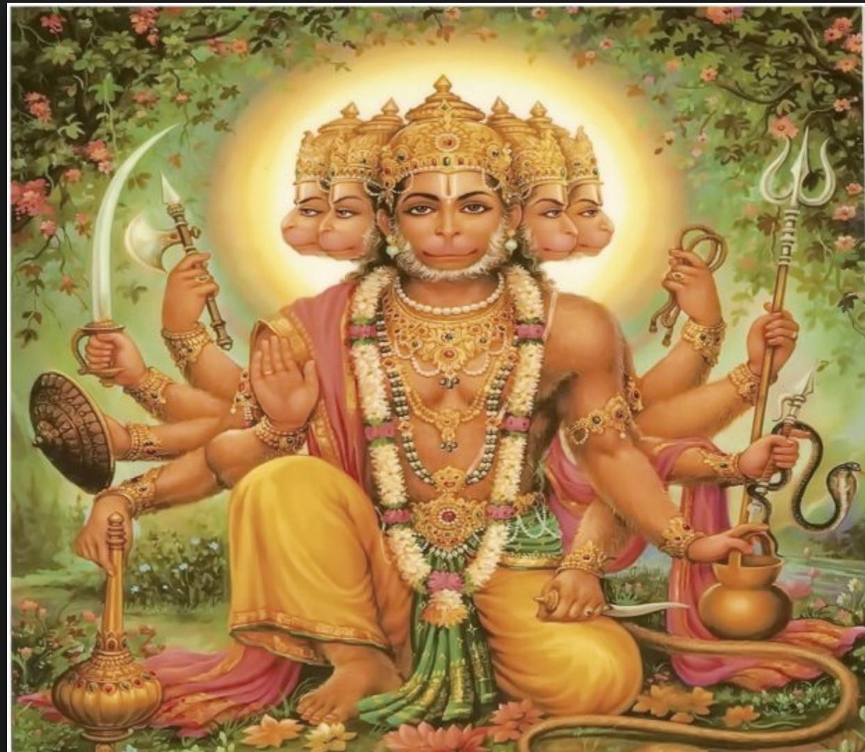 Panchmukhi Hanuman Ji Ke 12 Naam