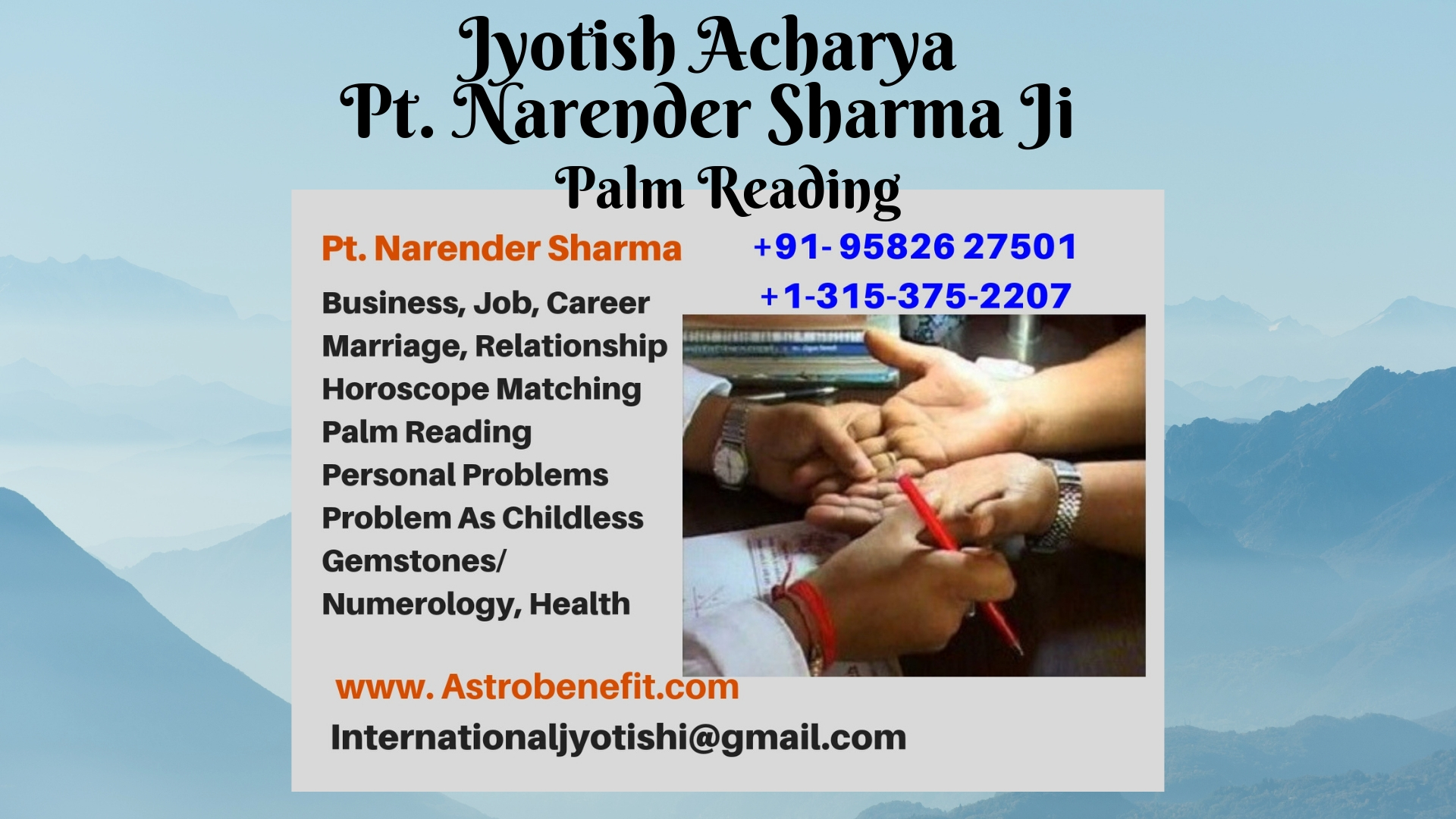 Best Astrologer in London- UK +44-114-360-599 Pt. Narendra Sharma